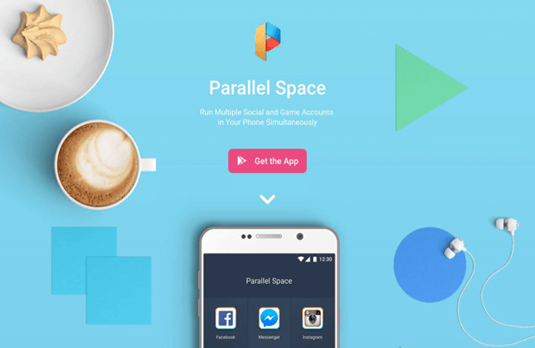 Utiliser Parallel Space