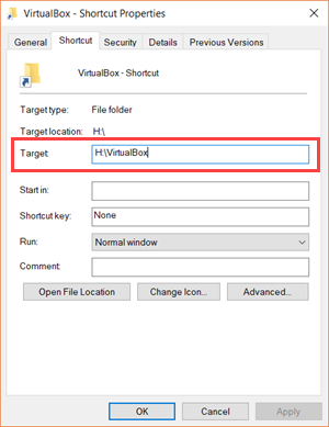 Check the Availability of the File Location