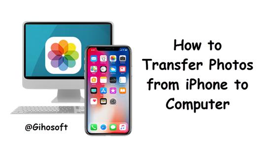 4 façons simples de transférer des photos de l'iPhone vers l'ordinateur