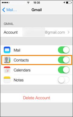 Fusionar contactos duplicados de iPhone en Gmail