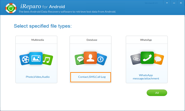 iReparo for android is best Android data recovery.