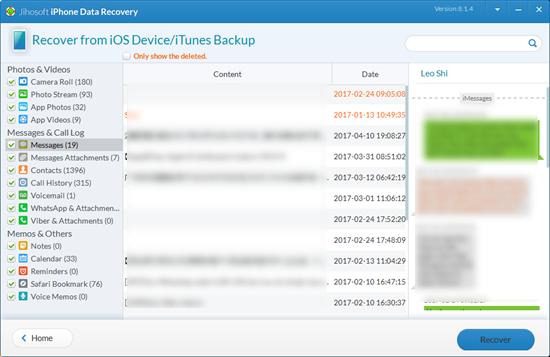 Obtener acceso al historial de iMessage en tu ordenador