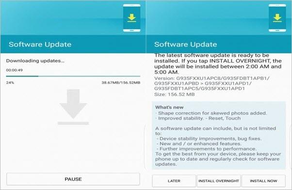 Die Android-Version mit OTA-Updates upgraden