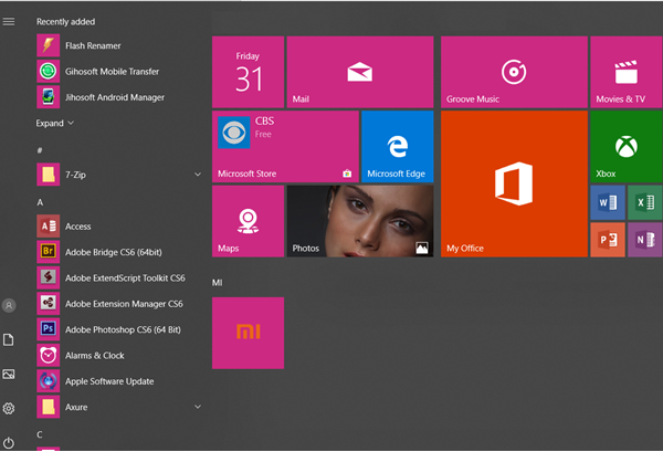 Personalize and Customize Windows 10