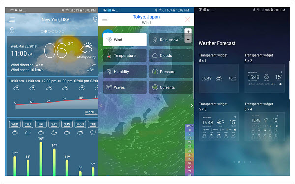Weather Live Pro is one of 5 Best Weather Apps for Android with Accurate Weather Forecast.