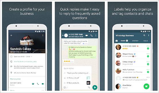 Install WhatsApp Business App