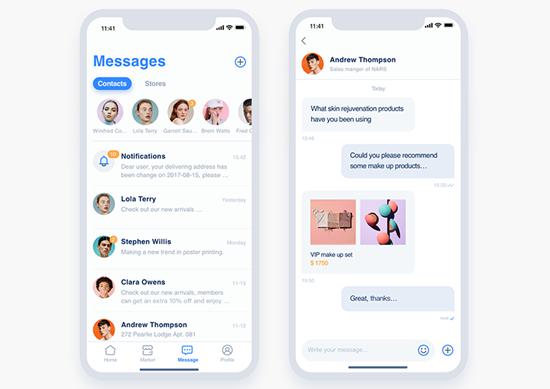 Wie kann man Textnachrichten vom iPhone drucken?