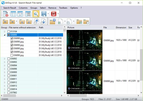 AllDup Delete Duplicate Photos
