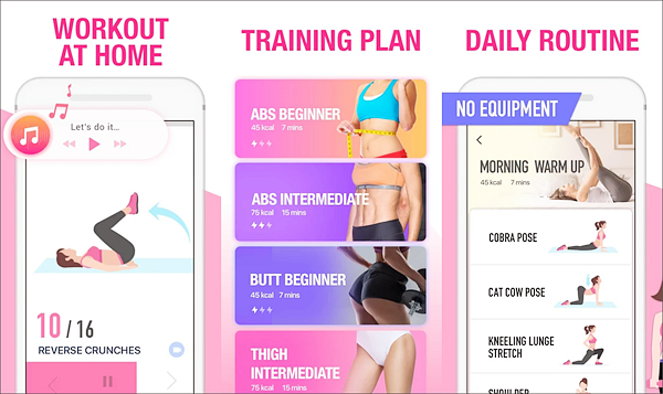 Female Fitness is one of the best Android Fitness and Workout Apps for Bodybuilding.