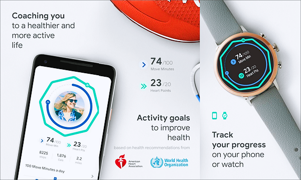 Google Fit: Health and Activity Tracking is one of the best Android Fitness and Workout Apps for Bodybuilding.