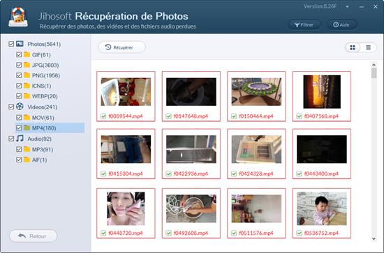 Comment récupérer des photos / vidéo / audio à partir de Windows