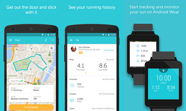 Runkeeper is one of the best Android Fitness and Workout Apps for Bodybuilding.