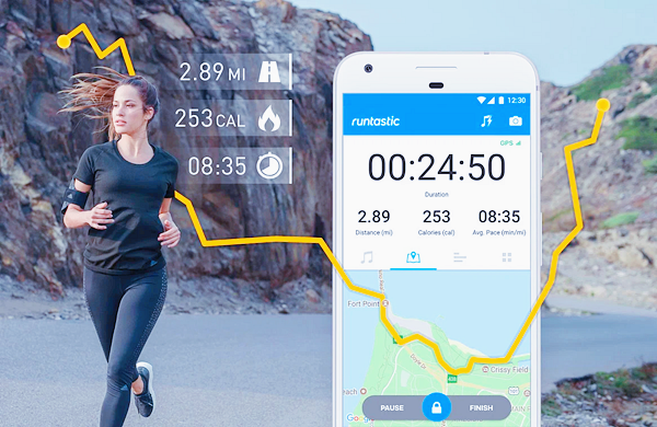 Runtastic Running App & Mile Tracker is one of the best Android Fitness and Workout Apps for Bodybuilding.