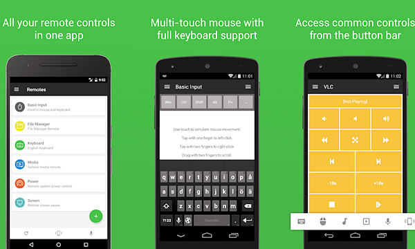 Using Unified Remote to Control PC from Android Phone