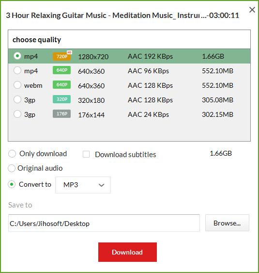 Einfache Anleitungen zum Speichern von YouTube Playlist als MP3 kostenlos.