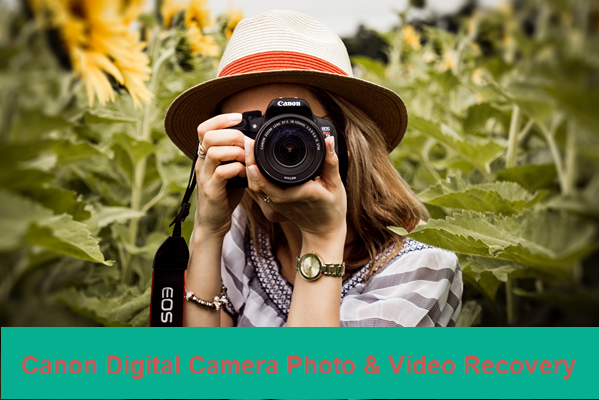 Recover Deleted Photos and Videos from Canon PowerShot/EOS