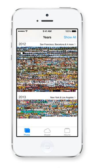 Effacer les photos et vidéos abondantes de l'iPhone