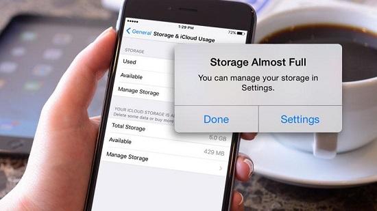 ¿Cómo liberar espacio en el iPhone