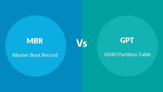 MBR vs GPT: Quel est le meilleur?