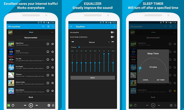 Radio Online – PCRADIO is best Radio Apps for Android to Stream Online Music.