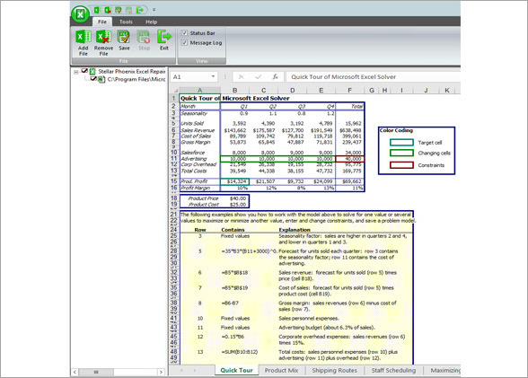 Recover Corrupted Excel File with Third-Party Tool