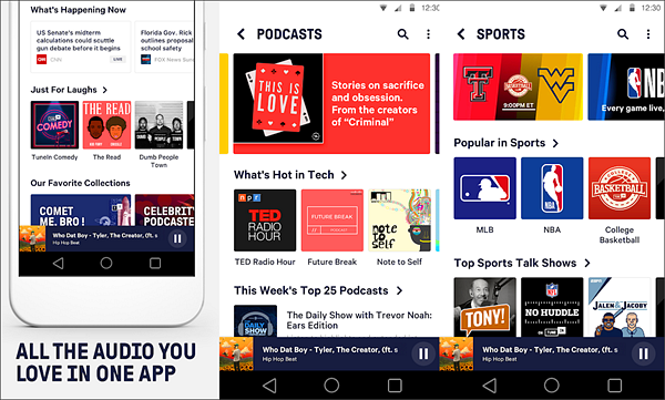 TuneIn: NFL Radio is best Radio Apps for Android to Stream Online Music.