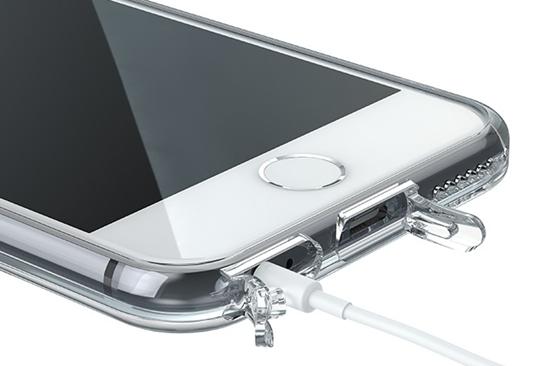 Utiliser un étui mobile avec un couvercle de port