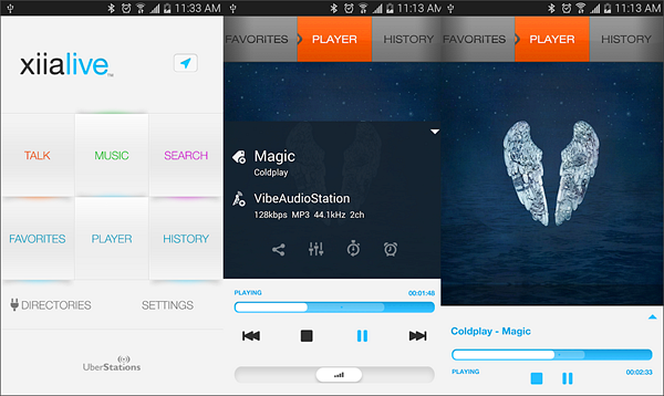 XiiaLive - Internet Radio is best Radio Apps for Android to Stream Online Music.