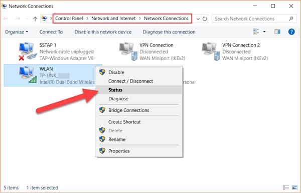 Find WiFi Password on Windows Computer