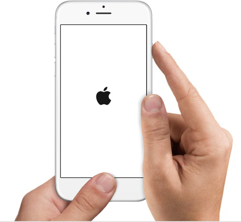 Forcer le redémarrage de l'iPhone 6 ou de l'iPad