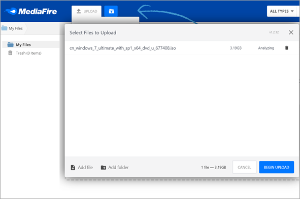 Send Large Files Over the Internet with MediaFire