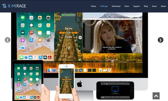 X-Mirage, Aplicación de iOS Mirror para iPhone
