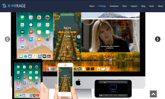 X-Mirage, Applications miroir iOS pour iPhone.