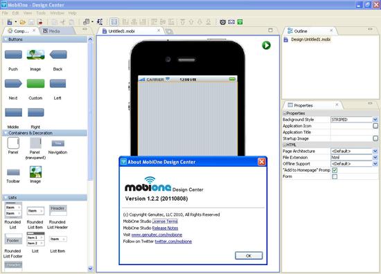 MobiOne Studio, el mejor emulador de iOS para Windows 7/8 / 8.1 / 10.
