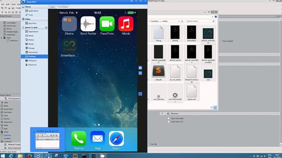 Smartface, el mejor emulador de iOS para Windows 7/8 / 8.1 / 10.