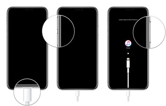 Schritte zum Aktivieren des iPhone Wiederherstellungsmodus