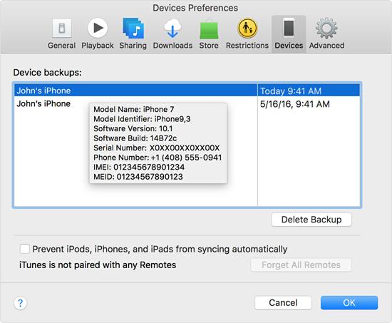 Wie man alte iTunes-Backups vom Mac oder Windows-PC manuell löschen kann