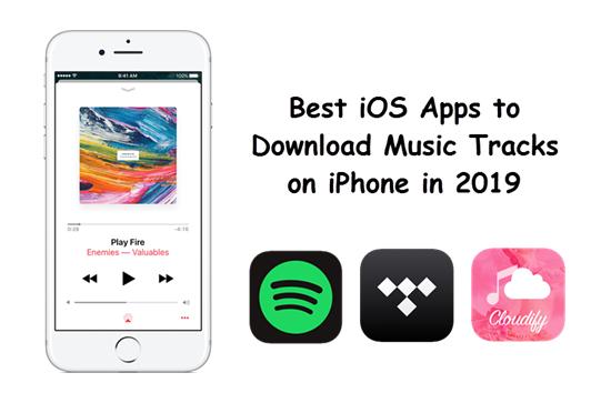 Mejores aplicaciones de descarga de música para iPhone.