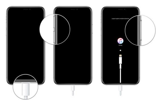 Pasos para entrar en modo de recuperación de iPhone