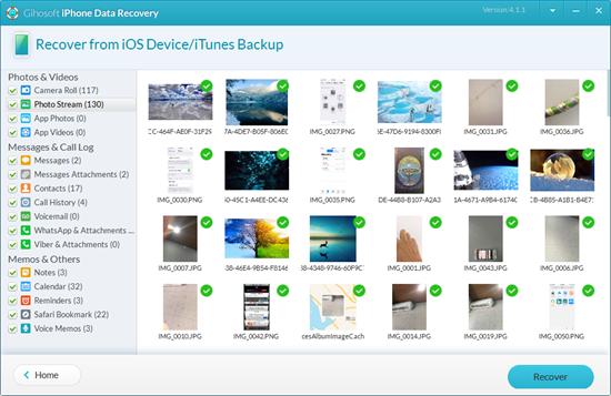 Synchronisez toutes les photos de votre iPhone sur iCloud Drive à partir de votre ordinateur.