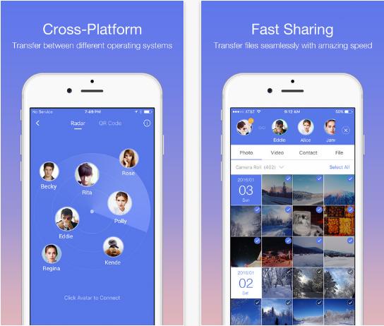 Zapya – File transfer tool and GIF viewer