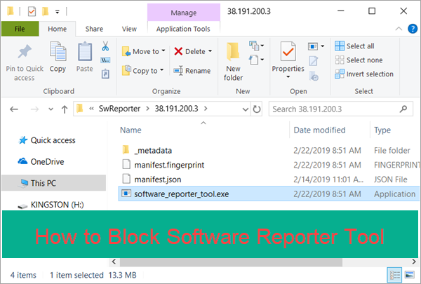 software reporter tool cpu load