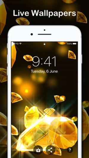 Fondos de pantalla en vivo para iPhone HD, las mejores aplicaciones de fondos de pantalla en vivo para iPhone.