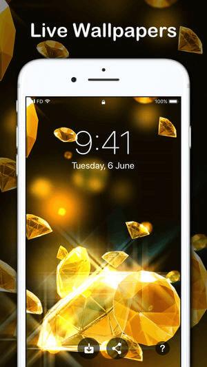 Live Wallpapers for iPhone HD, Les Meilleures Applications de Fond d'écran Vivants pour iPhone.