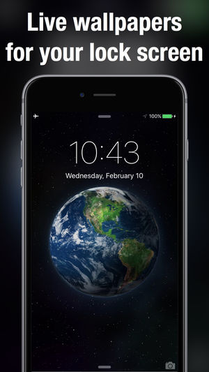Live Wallpapers & Backgrounds +, las mejores aplicaciones de Live Wallpaper para iPhone.