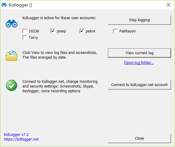 KidLogger is one of the Top Best Keylogger Tools.