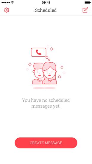 Comment envoyer un message texte retardé sur iPhone avec Scheduled