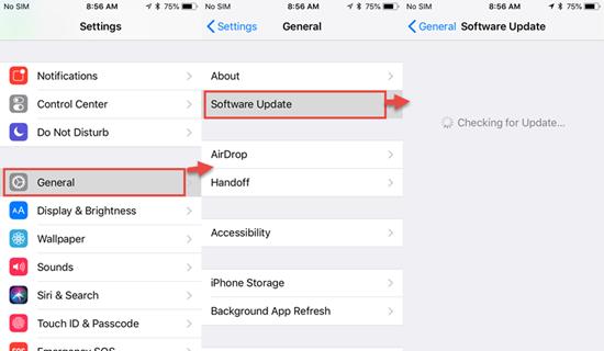 ¿Cómo actualizar su dispositivo iOS en el futuro?