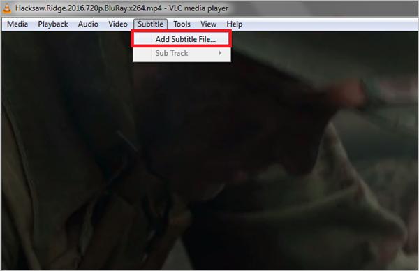 Ajouter des légendes à la vidéo avec VLC