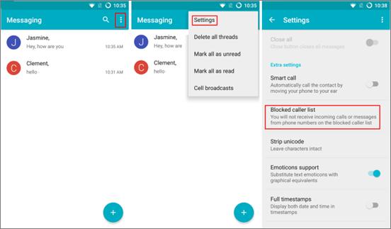 La aplicación de mensajería de Samsung no funciona